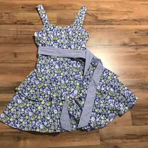 Vineyard Vines Sundress with Tiered Skirt